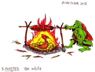 Day 3: Roasted by Thastygliax
