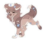 Holiday Art Giveaway - Nurse Pup by teacup-puppy