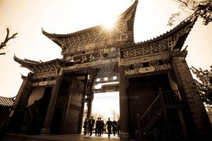 Chinese Architecture by nematolah