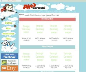 Our New Site Layout by Akasarushi