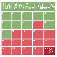 Adopt Advent Calendar! OPEN by plantgay