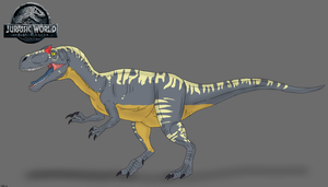 Jurassic World: Fallen Kingdom - Allosaurus by TrefRex
