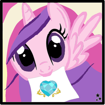 Princess Cadence Icon by PrincessCadencePony