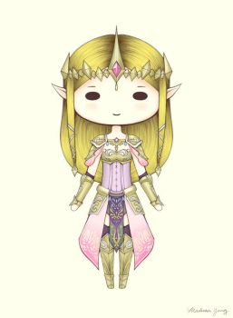 [Commission] Princess Zelda by ShadowSeason