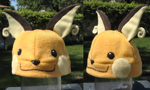 Raichu Hat by clearkid