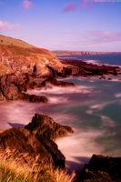 long exposure irish coast by tnhop