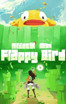 Attack on Flappy Bird by ItsumiK