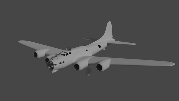 B-17 Progress 010 by kbmxpxfan