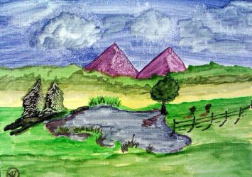 Purple Mountains by GentlestGiant