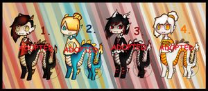 Foodie DragonTaur Adopts (CLOSED) by Adopt-From-Frog