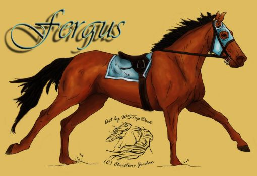Fergus by candigal