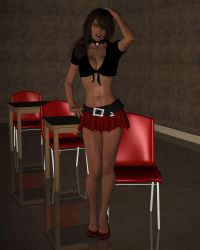 Stephy 003 by Cosmics-3D-Angels