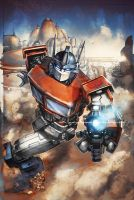 Transformers RID #19 cover colors by khaamar