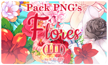 [Pack] Flores III by R-bleiy