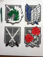 attack on titan corps emblems by mininete