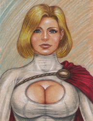 Power Girl by Edi-The-Mad