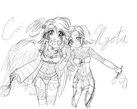 Tagl and Nyota contest entry by cuttpie522