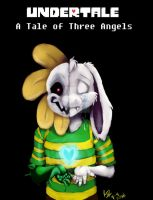 Undertale: A Tale of Three Angels cover A by catgir