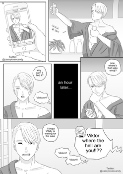 Yuri on Ice Doujinshi page 9 by Cassy-F-E