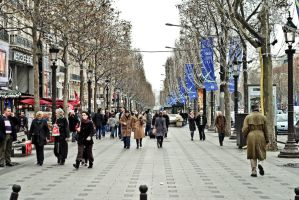 Champs Elysees live from Paris by spinal123