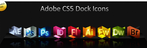 CS5 Dock Icons by guyx23