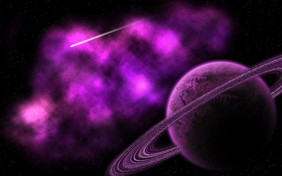 pink planets by randomkitty2