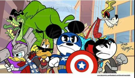 New Mickey Mouse Avengers  by DaveAlvarez