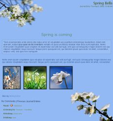 Spring Bella CSS by NellyAsher