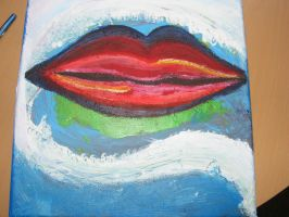 Lips painting by rev-Jesse-C