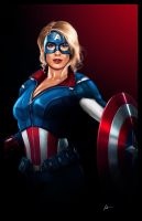Captain America  by IronWarrior777