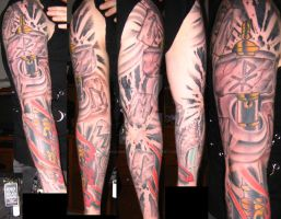 Mjolnir Sleeve Finalized by chaosweaver6139