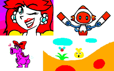 3DS Graffiti doodles by RatFromRule34