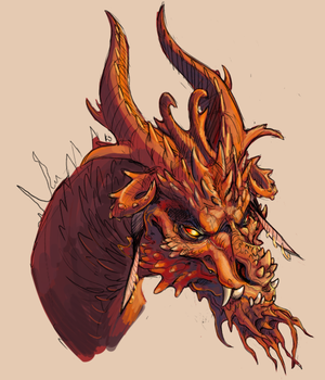 Red Dragon by is-chimera