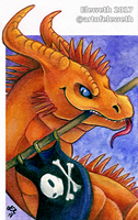 ACEO: Pirate soul by Eleweth