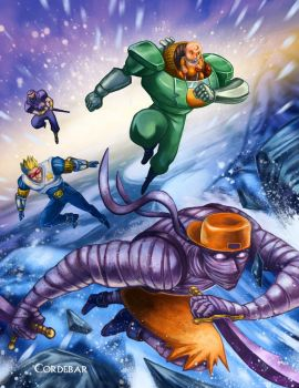 Captain Commando by DeDorgoth