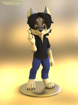 Zooshi (3d Model) by bbmbbf by Zooshi18