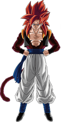 Gogeta ssj4 render 3 [Dokkan Battle] by maxiuchiha22
