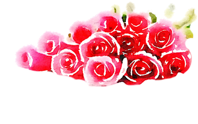 FREE-roses-pile-png-watercolor-FREETOUSE-usefreely by anjelakbm