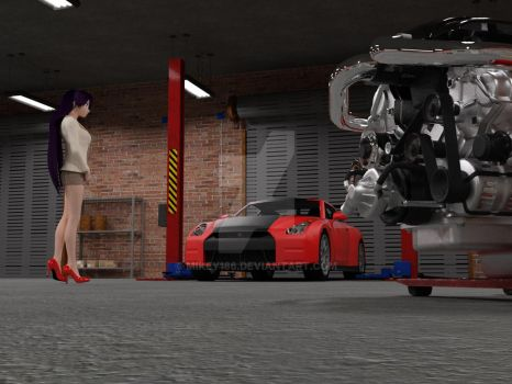 Rei's GT-R swap? by Mikey186
