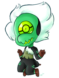 Centipeedle by Artist-squared