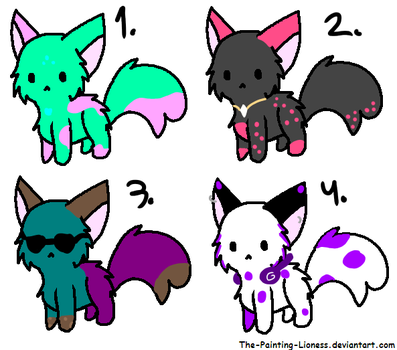 some special adopts (2/4) by ChristineHH