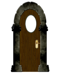 PNG DOOR 5 by Moonglowlilly