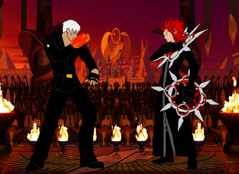 Axel vs K' by LeoStar0012