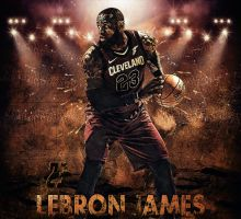LEBRON JAMES N23 by AYGBMN