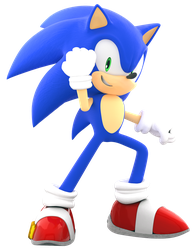 [Blender] Sonic BOOM Pose remake by SonicBoom13561