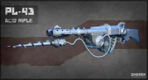Acid Rifle Highpoly by Oxeren