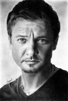 Jeremy Renner (drawing) by shaynaJreddick