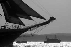 Sails on the Summer Day II by Atenodor