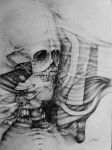 Life's true face is the skull by nickbleb