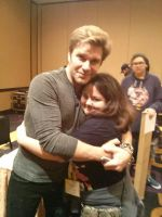 Me and Vic Mignogna  by DreamNotePrincess